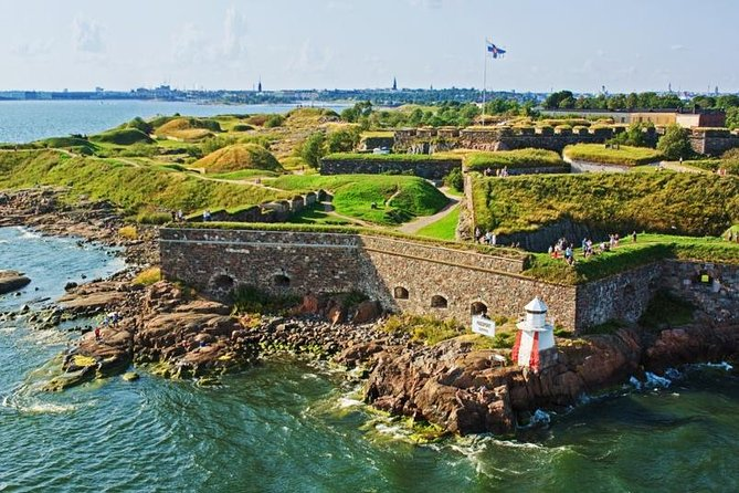 Discover Helsinki and Suomenlinna during this 5-hour tour. With a professional guide, visit Helsinki's most famous sites, including Sibelius Monument and Esplanade Park. Next, take a ferry to the Suomenlinna Island and continue your walking tour through Suomenlinna church, Jetty barracks and Dry dock etc. Round-trip ferry tickets and pickup from central Helsinki is included.