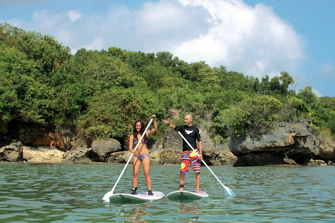 Try your hand at Stand Up Paddle board, great for fitness, also an easy and exciting way to surf waves with no surfing experience required. After just one lesson you'll be piloting the board along the coastline or trying your hand on rolling waves - on your own, with a friend or with one of our guides.