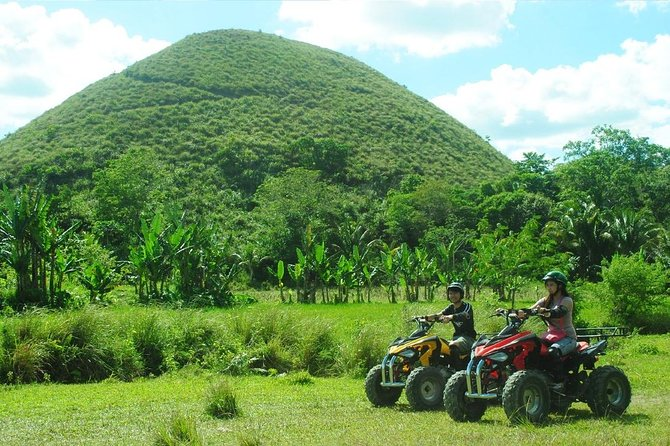 Have fun and enjoy the day trip to Bohol with an expert guide who shows you the natural beauty of the Bohol, far from the bustle of Cebu. Relax in air-conditioned comfort as you travel throughout the island, This comprehensive tour into the Bohol countryside features plenty of attractions, ideal for the first-time visitors who want to pack a lot into one day. You'll visit the Chocolate Hills; see Mahogany trees in the Bohol Man Made forest; get a close-up encounter with a Tarsier, a tiny primate; take a 1 or2 -hour cruise on the Loboc River; Visit the 2nd Oldest Church in the Philippines; visitthe 300kg Python and also the Butterfly Garden and visit several historical sites. Enjoy a buffet lunch at a floating restaurant and hear commentary from your informative guide.