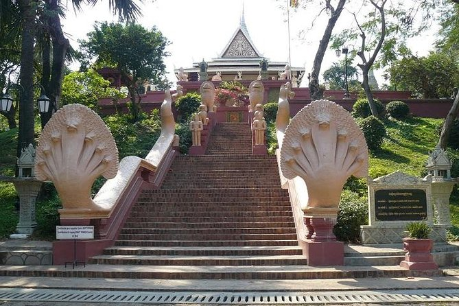 Enjoy a full-day tour in Phnom Phen to visit some of the most amazing destinations including Royal Palace, Silver Pagoda, National Museum, Wat Phnom, Tuol Sleng Genocide Museum, Choeung Ek Genocidal Center, Russian Market and Wat Ounalom.