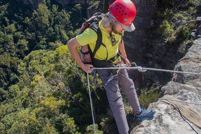 Abseiling in the Blue Mountains is a thrilling experience, just 2 Hours from Sydney! This fantastic 8-hour guided entry-level adventure allows you to gear-up and abseil the cliffs of the UNESCO World Heritage listed Blue Mountains National Park. Tour includes a catered lunch as well as all required technical equipment.