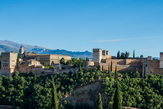 Visit Granada and the Alhambra on this full-day tour from Seville. Skip the line at Alhambra Palace on your guided tour that includes Nasrid Palace, Alcazabar, and Generalife Gardens. Your guide will share the history of the area along the way. If the option is selected, finish with a walking tour of Albaicin, the city´s whitewashed Moorish quarter. Hotel pickup and drop-off is included.