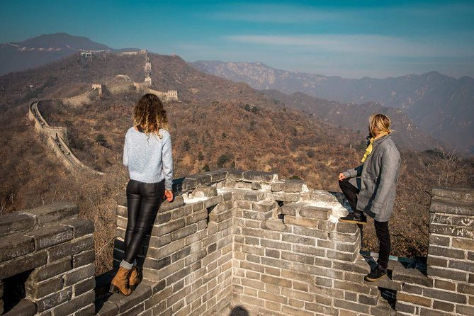 Mutianyu great wall layover tourwith English Speaking Driver <br><br> Tour : Private layover Tour <br><br> Tour Duation : 5 hours <br><br> Meet point : Starbucks by arrivals <br><br> Layover time frame : at least 7 hours <br><br> Trasportation:Car or mini-Van <br><br> Avaliablility:Everyday <br><br> Departs:Beijing Airport or hotel <br><br> Returns:Beijing Airport or hotel