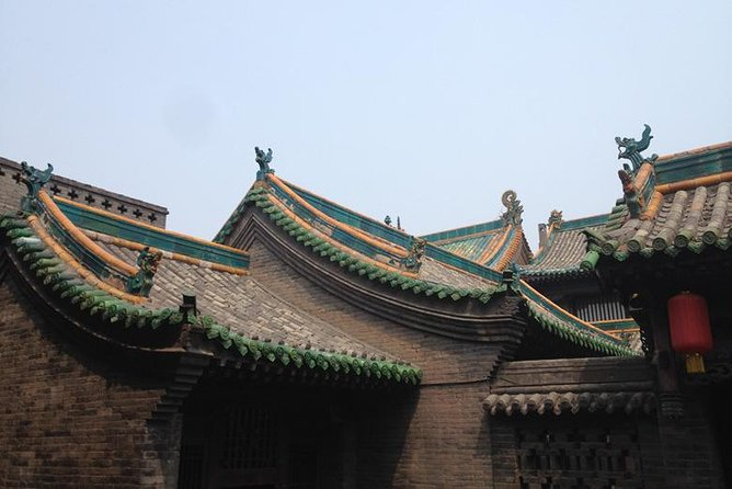 Visit the two main historical places (Pingyao Ancient City +Wang Family Compound) within one day, how wonderful tour to see the highlights with our guide and diver, Walk on the 700 years old wall to have a view of the roof top, visit the bank museum to find out why Pingyao was the financial center, See the oldest building in the Confucius Temple, See the most beautiful City God Temple in Pingyao etc, and drive to visit the Richest Wang's family compound from 200 years ago, still remains 1000 rooms, how impressive, after tour, driver and guide can drop off you at Pingyaogucheng Station if you take the afternoon fast train nearby 16:00, 17:00 or 20:00 or just back to your hotel in Pingyao.
