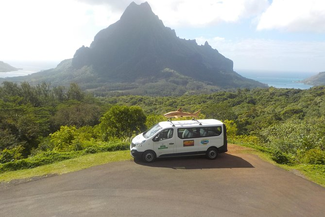 Discover Moorea at your own pace by 8-seater air-conditioned minivan. During the 3-hour private tour with only your party on board, you can visit Opunohu Bay, Cooks Bay, tropical gardens, vanilla and pineapple plantations, stop for fruit and jam tasting and take in the magnificent views from the Belvedere -- the choice is yours! Along the way your Tahitian guide will share local tips and insights. You can choose from a morning or afternoon tour. Hotel or port pickup or drop-off are included.