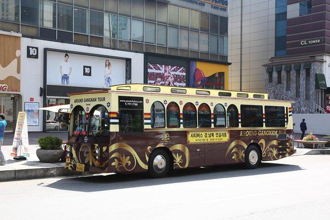 Percurso com várias paradas em Gangnam Seul, Seul, COREIA DO SUL