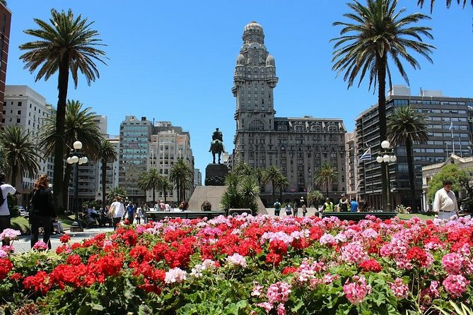 Come along for a 3-hour together with a professional guide in Montevideo. Start the tour in Old City, where you can see the Square Independencia. Through July 18th, walk main central avenue to the Legislative Palace. From the Farmer's Market, go to Batlle Park home of the Centenario Stadium, a monument of world football. Pocitos Beach and Kibon Center are worth the stop for photos. Carrasco, a more elegant suburb of Montevideo, is the final stop. Daily hotel pick up departures are 07:50 am, depend location the Hotel. Tour has a capacity of 44 people. Tour alone AM.