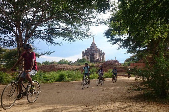 Go beyond Bagan on a bike and leave the city behind as you explore countryside villages on two wheels. You'll stop at stunning temples, see ancient sites, and explore a local market. Then finish if off with lunch at a local restaurant.