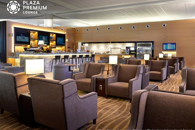 Relax and refresh before your departure or in-between flights in the comfort of a Plaza Premium Lounge at Winnipeg Richardson International Airport. Lounges are located in the Departures Level, giving you a chance to unwind no matter where you're flying. Recline in the sleek, contemporary departure lounge, and make use of first-class services, delicious and comforting meals, Wi-Fi. Choose from a 3- or 6-hour package to suit your schedule.