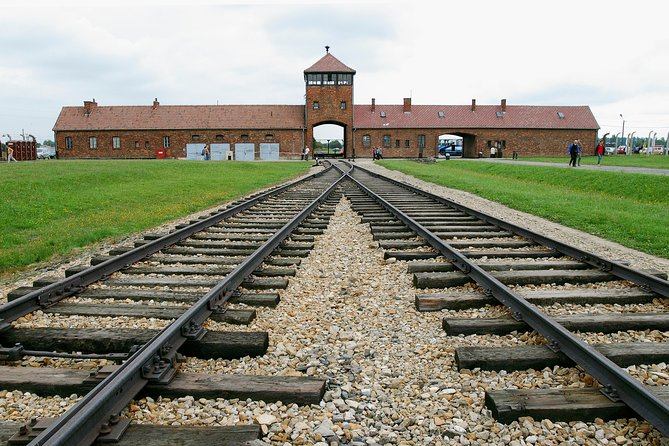 Discover Krakow's history on this full-day tour toAuschwitz-Birkenau Memorial and Museum and theWieliczka Salt Mine. First, you will be taken by private air-conditioned minivan or minibus to Auschwitz-Birkenau to explore the grounds and the museum. In the afternoon, you will get a chance to visit Wieliczka Salt Mine, the underground complex recognized by UNESCO's World Heritage Sites List, and see its chambers carved in salt. This guided has a maximum size of 30 guests in Auschwitz - Birkenau Museum and 35 gusests in Wieliczka Salt Mine and includes pickup and drop-off from your Krakow hotel.