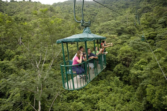 Pair nature and adventure on this 2.5-hour tour in the rainforests of Costa Rica along the Pacific coast. Inside a private nature reserve, take a quiet and tranquil ride in an open-air gondola and marvel at views of the ocean, lush mountains and tropical wildlife. Then pump up the adrenaline and zipline down through the canopy, cruising along 10 ziplines and 15 platforms. Stroll through the reserve's serpentarium and learn about medicinal plants. A safety briefing with top-notch gear, a naturalist guide and round-trip transport from Jaco hotels are included.