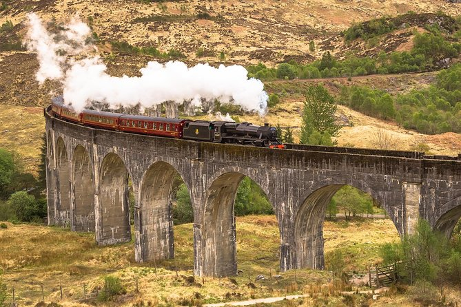 Experience the Highland beauty of the Isle of Skye on a 3-day excursion from Edinburgh. You'll spend two nights on the Isle of Skye, see legendary Loch Ness and ride one of the world's most famous steam trains, the West Highland Line, as seen in the Harry Potter films.