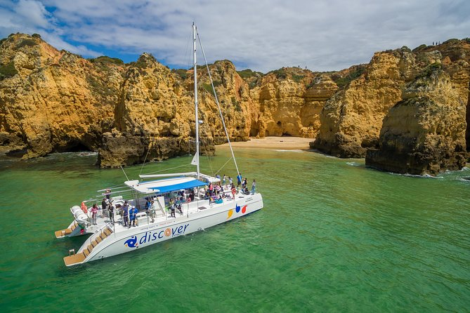 Take advantage of a beautiful 4-hour cruise along the amazing coastline of the Western Algarve. Experience and witness the spectacular rock formations and golden beaches of Europe's best kept secret. You and your small group will hear live commentary from the ship's crew during this amazing journey, which includes a light lunch.