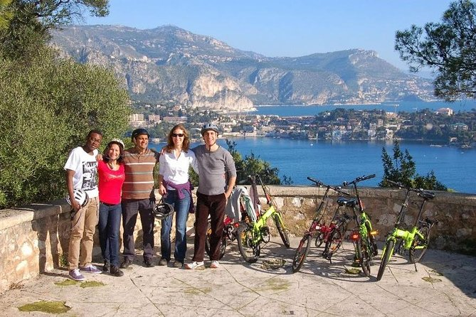 Enjoy stellar views of the French Riviera on a 4-hour tour by electric bike; it's a fun, easy, eco-friendly way to sightsee with the whole family. Admire the yacht-filled Port of Nice before embarking on quiet Mediterranean coastal roads to Mont Boron City Park, Fort du Mont Alban, the medieval Citadel of Villefranche and colourful Villefranche town. Your guide will show you a variety of beautiful panoramas around Nice and take you to spots not usually found in guidebooks. We then have a relaxed picnic on the beach. Learn about the sights, take in the views and discover secret spots not found in the guidebooks! Numbers are limited to 10 on this small-group tour, ensuring you'll receive personalised attention.
