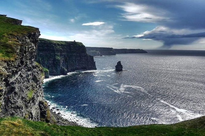 Join us on our Cliffs of Moher tour as we discover some of the most dramatic cliffs in Ireland. We take an unforgettable journey to the Wild Atlantic Way where you are rewarded with dramatic and breathtaking views that are nothing short of amazing. Along with your fellow travellers, discover the best of Ireland's dramatic coastline including the Burren and the bohemian city of Galway.
