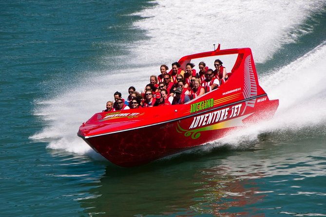 Feel the wind in your hair as you power down Waitemata Harbour in a supercharged jet boat. See Auckland's iconic landmarks from a different perspective, and experience the thrill of on-water maneuvers like 360-degree spins, fishtails and power brakes.