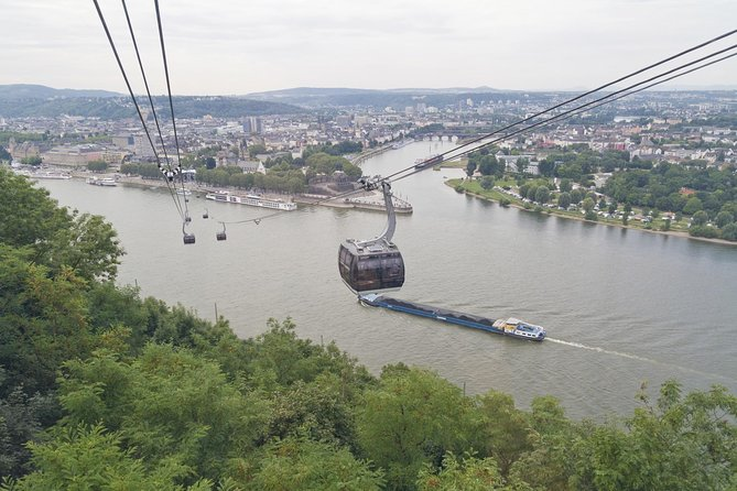 Koblenz Day Trip from Frankfurt: Ehrenbreitstein Fortress, Rhine Valley Cable Car Ride and German Dinner, Frankfurt, ALEMANIA