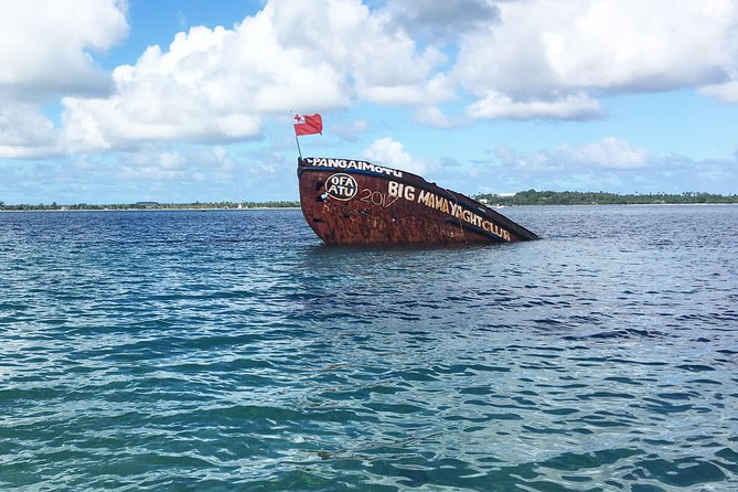 """Enjoy Pangaimotu Island known as """"King's Island"""", Tonga's most popular offshore resort. It is reachable by a 10-minute boat trip from Nukuʻalofa. The island proudly boasts its pristine beach, an excellent swimming and snorkelling – a perfect location to unwind in paradise."""