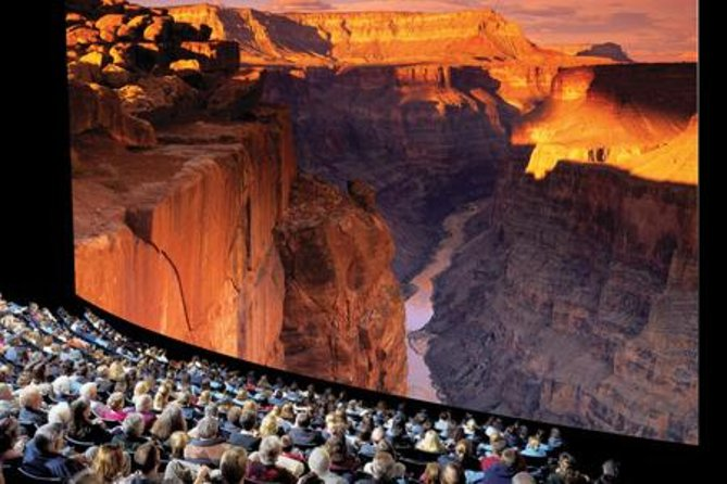 The larger-than-life Grand Canyon IMAX® experience brings the Grand Canyon to life on a giant six-story screen. The Grand Canyon movie traces the canyon's history and, with 12,000 watts of floor-shaking digital surround sound, makes you feel like you're inside the canyon itself.
