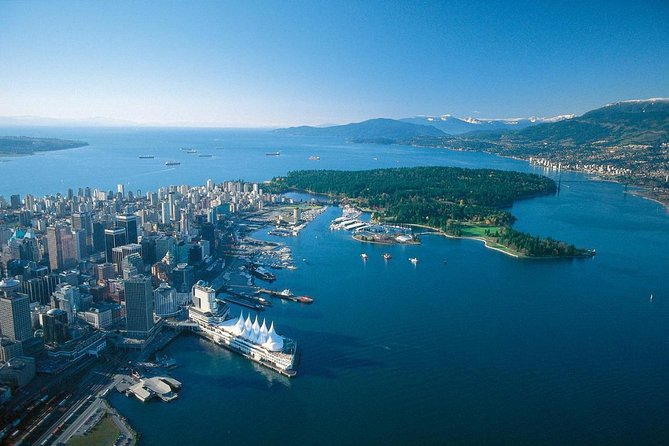 This 3-hour Vancouver City tour provides perfect photo stops as you get a closer look at some of Vancouver's best sights. Your driver will greet you at your Vancouver hotel, cruise ship or residence and get you on your way. See all Vancouver has to offer with a private driver guide and a enjoy a 30 minute stop at the Granville Island Framers Market.