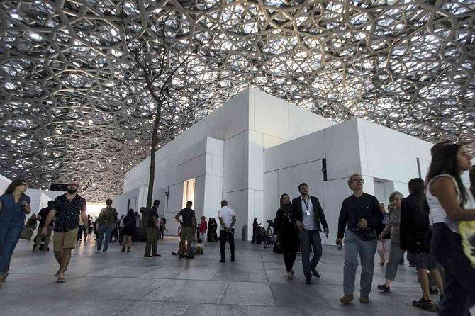 Entrada al Museo del LOUVRE de Abu Dhabi con transporte de lujo, Abu Dabi, EMIRATOS ARABES UNIDOS