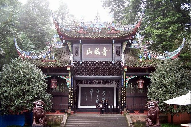 Enjoy a day away from the city and experience the grandeur of the Sichuan region's scenic wonders on this full-day tour to Qingcheng Mountain and the Dujiangyan Irrigation System, both UNESCO World Heritage Sites. Admire how temples and halls are seemingly carved into the thick forest of bamboo trees and caves at Qingcheng Mountain, where you'll take a boat ride and a hike with your guide. Marvel at the construction of the Dujiangyan Irrigation System, which was built in 256 BC and led to significant irrigation and agricultural development of the region.