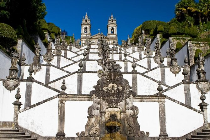 Travel north on a day trip from Porto to two of northern Portugal's historic cities, which are currently basking in the European spotlight. First, discover the country's origins in the UNESCO World Heritage-listed town of Guimarães. Home to a 10th-century castle and the Dukes of Braganza Palace, the town today is filled with pride for being named the European Capital of Culture for 2012. Then visit the city of Braga, founded by the Romans more than 2,000 years ago. The oldest Christian city in Portugal, Braga is celebrated today as the 2012 European Capital of Youth.