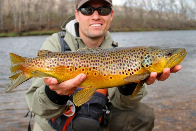 A Half Day Float on the Arkansas is the quick ride to a lot of action! On the Arkansas River, your guide will be a combination of a fly fishing guide and a whitewater master. A Fly Fishing float trip on the Arkansas is very fast paced, it will be non-stop casting and non-stop action from the time you step in the boat! The half day float trip will test your casting ability, however it is typically the perfect duration for most anglers. We operate Morning, Afternoon and Evening launches specific to season (inquire for more details).