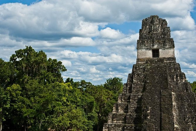 Discover the beauty and ancient history of the Mayan ruins of Tikal on this air tour from Antigua! Enjoy a scenic flight to Tikal and spend the day exploring this incredible archaeological site in the UNESCO World Heritage-listed Tikal National Park, located in the heart of the Guatemalan jungle. Tour the ruins with your expert guide and learn about the history behind the steep-sided temples and plazas. This full-day tour gives you the opportunity to see one of Guatemala's most beautiful ruins in an easy and convenient way!