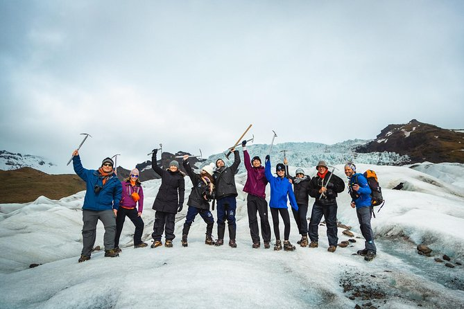 A5 hour glacier hiking adventure with a certified glacier guide.Hike onone of the outlet glacierconnected to themassiveVatnajokull glacier, while your certified glacier guidewill provideyou with interesting informationabout the formation and history of the glacier. The Tour is operated ina small group setting guaranteeing personalized experience.