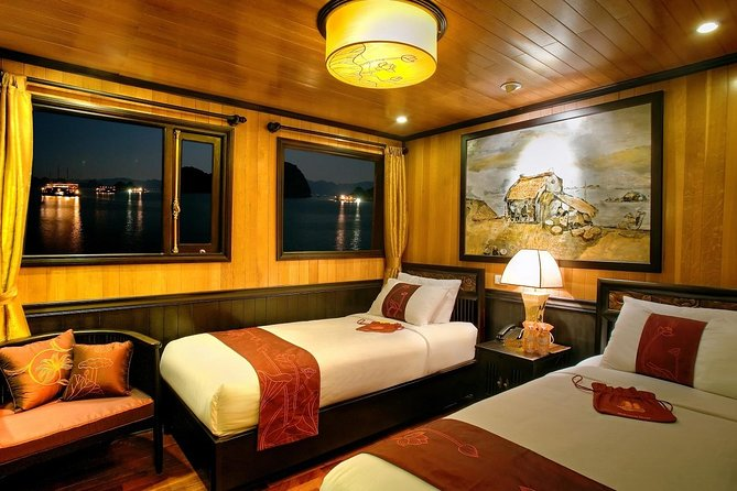 MORE PHOTOS, Indochina Sails Junk Cruise Ha Long 3 days 2 nights depart from Ha Noi