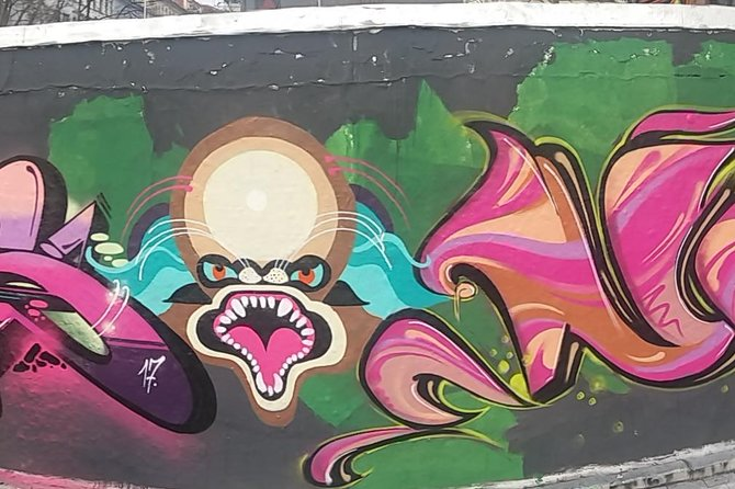 "On this 2 hr walking tour through the district Dresden Äußere Neustadt, the quarter of a live like a ""Boheme"", is very unique in Street Art.<br><br>You will see illegal and legal works from local and international Street Artists.<br><br>We talking about techniques and styles. On this authentic tour you will see painted walls, a Station designed from the Writer and Mural scene. Pasteup, Stecils, Tag´s and Mural´s follow our journey. We will cross the unique ""Kunsthofpassage"".<br><br>After this tour, you will be motivated to stay at night in this area with over 100 Bar´s and Pub´s."
