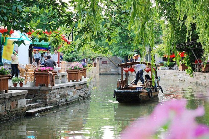 Private Shanghai City and Zhujiajiao Combo Tour with Boating, Tea Tasting, Lunch, Xangai, CHINA