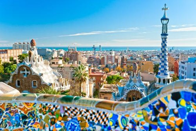 Explore the architectural wonders of one of the world's most famous architects, Antoni Gaudí, on this full-day sightseeing tour in Barcelona. With your guide, learn about his spectacular Art Nouveau style while touring sites such as UNESCO World Heritage-listed La Sagrada Familia, Plaça de Catalunya and Park Güell. If you choose the afternoon tour option, you'll finish your tour with a spectacular Montjuic Magic Fountain light show!