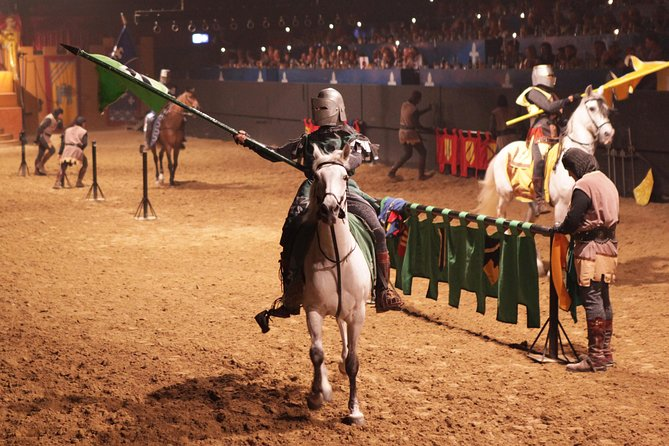 Journey through time to the days of Spanish knights when you arrive in the medieval castle of Valltordera near Costa Brava. During this exciting evening that highlights two very different forms of traditional Spanish entertainment, you'll watch a medieval jousting tournament followed by a dramatic flamenco performance. If you choose, you'll also feast on a medieval-style roast meat banquet.