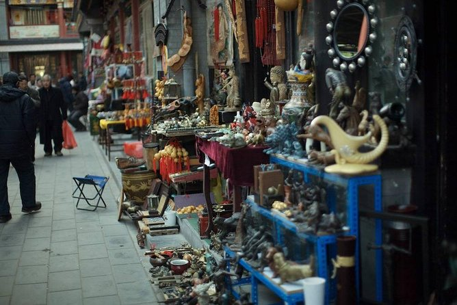 Join this private, customized, 6-hour shopping tour with a personal shopper in Beijing. This massive, capital city of Chinais not only famous for historical and cultural sights, it's also well know for its fantastic shopping opportunities. A local, personal shopper will design a creative shopping itinerary based on personal interests and budget. Choose a shopping desitination, such as the Panjiayuan flea market, Panjiayuan Glasses City, Liulichang Antique Street, Xi Dan Shopping Area,and much more.