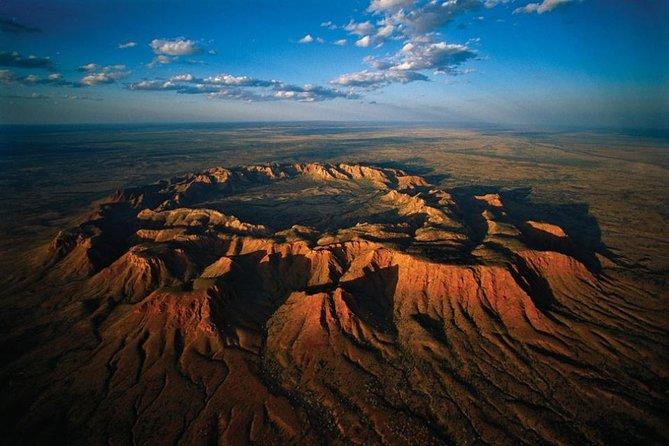 Scenic Flight: Gosses Bluff, Ayers Rock, AUSTRALIA