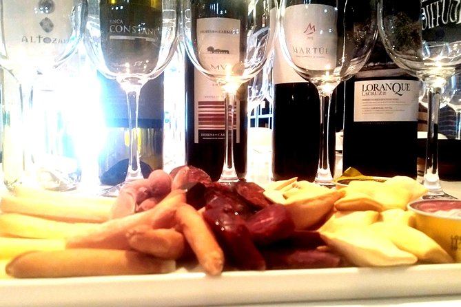 Three spanish wines and special hunting meat, Toledo, Spain