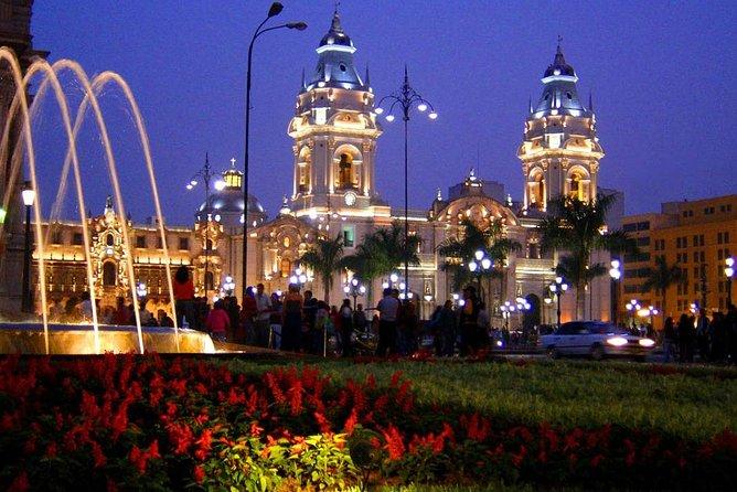 Private Lima Night Tour Including Magic Water Circuit, Lima, PERU