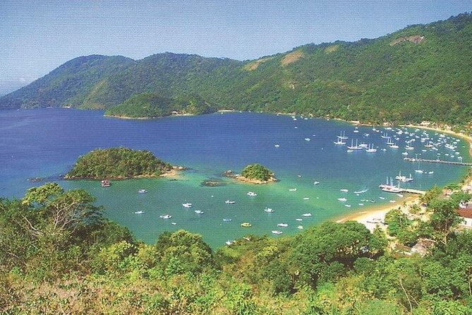 Excursão diurna saindo do Rio de Janeiro à Ilha Grande, Rio de Janeiro, BRASIL
