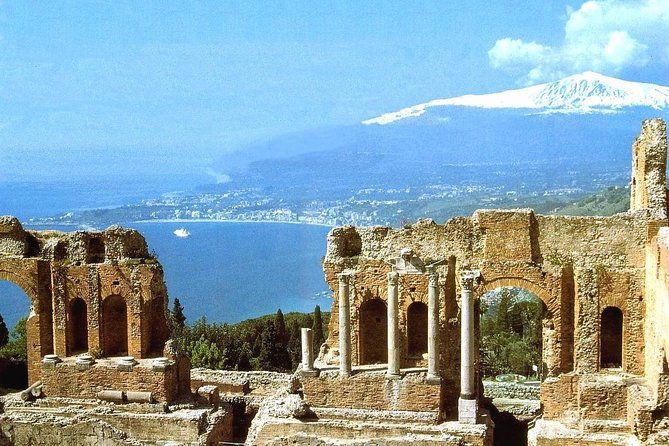 "This full-day tour goes from Etna, the highest active volcano in Europe, to the beautiful and characteristic town of Taormina in the afternoon. In the first part of the excursion, submerge in nature and visit old craters and lava flow caves, enjoy breathtaking views, and taste the typical local products. In the afternoon, before visiting Taormina, you will stop and see the beautiful ""Isola Bella""."