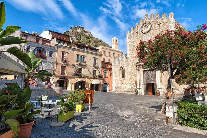 See the coast where Greeks first landed in Sicily, and admire the medieval architecture of Taormina whose palaces and monuments witnessed a long and meaningful history. Enjoy the panoramas which overlook the Ionian sea and on Nebrodi mountains from the high Castelmola, a natural balcony on Taormina. See traditional products of the artisanal shops and the elegance of the boutiques which make Taormina a little jewelry box.