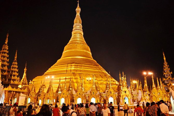 Explore four major attractions in Myanmar. Enjoy beautiful sunset from Shwedagon Pagoda. Visit main attractions in Mandalay region such as Mahamuni, U Bein Teak Bridge, unfinished Mingun Pahtodawgyi and Mingun Bell. Discover historical sites and enjoy sunset at one of the famous temples at Bagan. Observe Innthar Heritage and floating garden at Inle Lake.