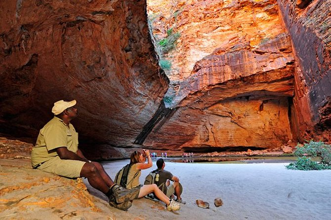 The ultimate Bungle Bungles experience with an exhilarating scenic flight, private ground tour, accommodation and gourmet meals at the Bungle Bungle Wilderness Lodge. Includes visit to ALL gorges.