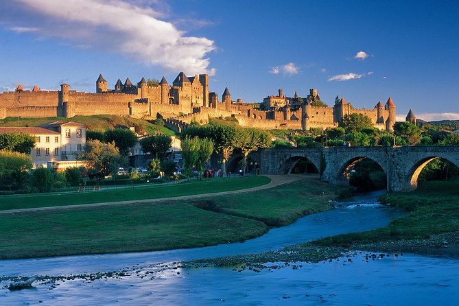 Carcassonne walking tour, Carcasona, FRANCIA
