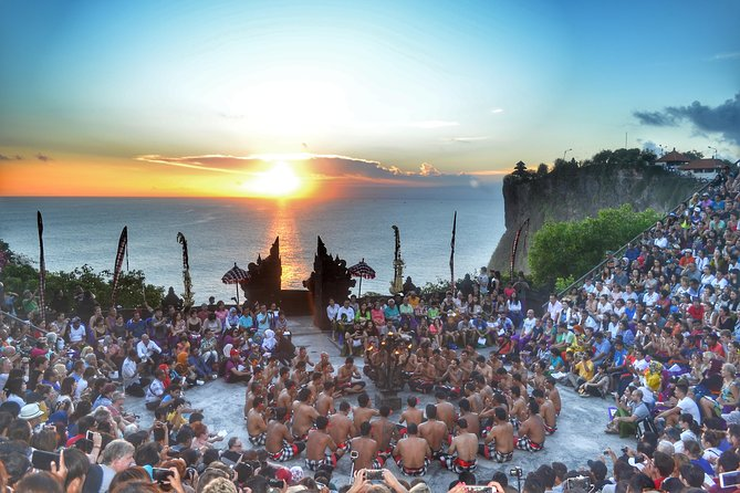 For who those have only limit time, this tours could be best solution for half day tours. We offer an excellent trip will show you the most popular beach, beautiful sunset and Kecak dance performance. <br> • Pick up at hotel 14:00 pm <br> • 15:00 to the coffee plantation <br> • 16:00  Padang Padang white sand beach beautiful beach for surfing and relax  <br> • 17.00 Uluwatu temple 11th Century <br> • 18:00 Kecak dance show  <br> • 19:00 Finish dance back to hotel <br> • 20.00 at Hotel