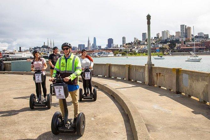 San Francisco Wharf and Waterfront Segway Tour - Our Most Popular Tour Route, San Francisco, CA, ESTADOS UNIDOS