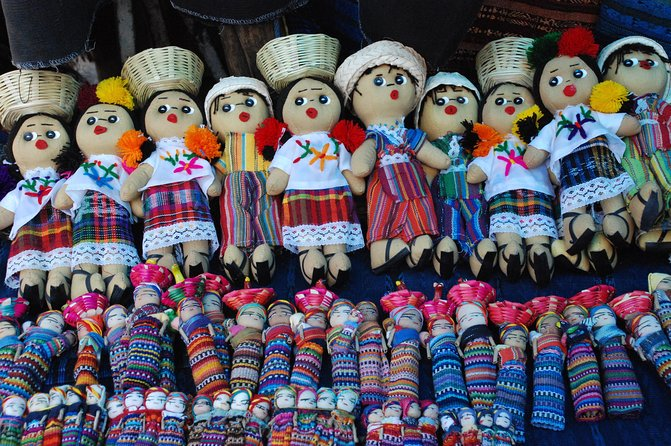 Today is market day in Chichicastenango! Visit the most colorful and picturesque Indian open-air market in the country. Hundreds of Indians from the surrounding countryside gather to barter their goods and products.