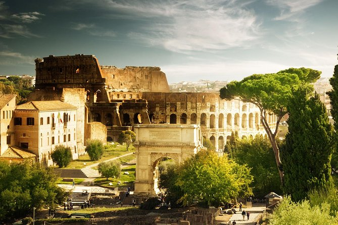 Go back in time with this 2.5-hour skip-the-line tour of the Colosseum, Palatine Hill, and Roman Forum in Rome. Bypass the queue at the Colosseum to avoid long waits. Explore the first and second tiers for great views. Then walk through the ruins of Palatine Hill and the Roman Forum with your guide, an art and archaeology expert.