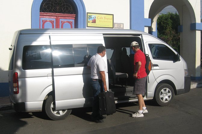 Private, door to door transportation from Granada to your hotel in Managua in excellent vehicles or vans with air conditioning and responsible, friendly drivers.